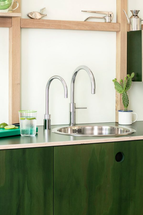 Nordic Round Twintaps Polished Chrome