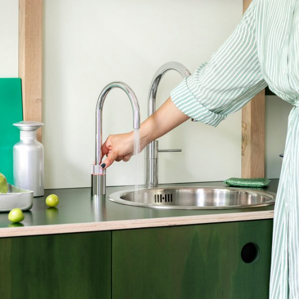 Nordic Round single tap Polished Chrome