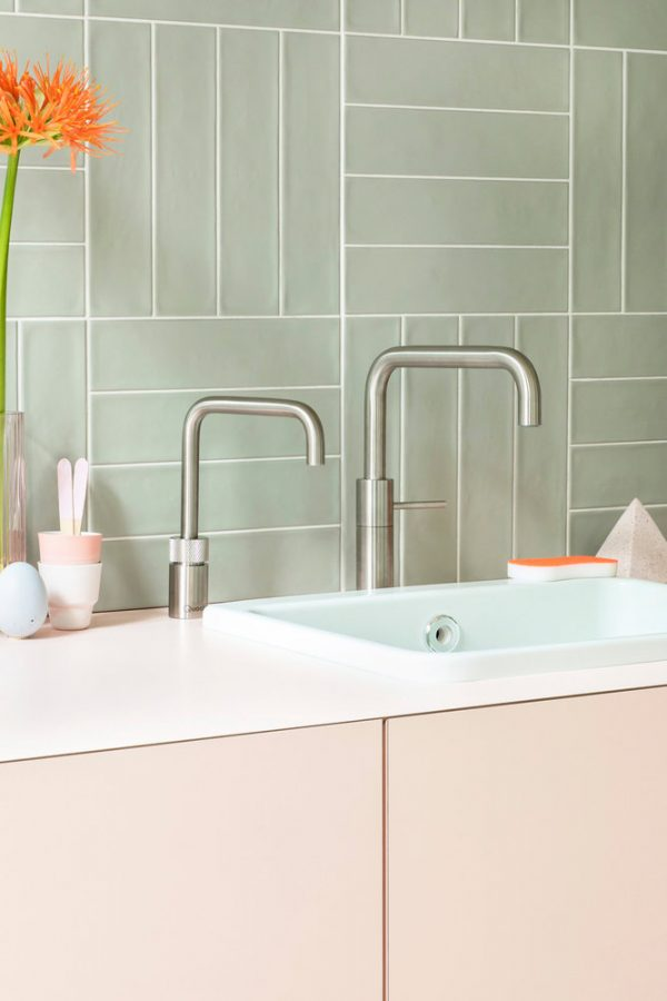 Nordic Square Twintaps Stainless Steel