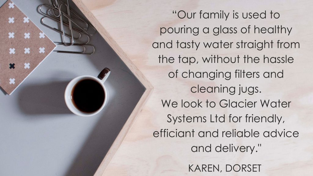 Many of Glacier Water Systems Ltd customers directly recommend us to their friends, family and workplaces.