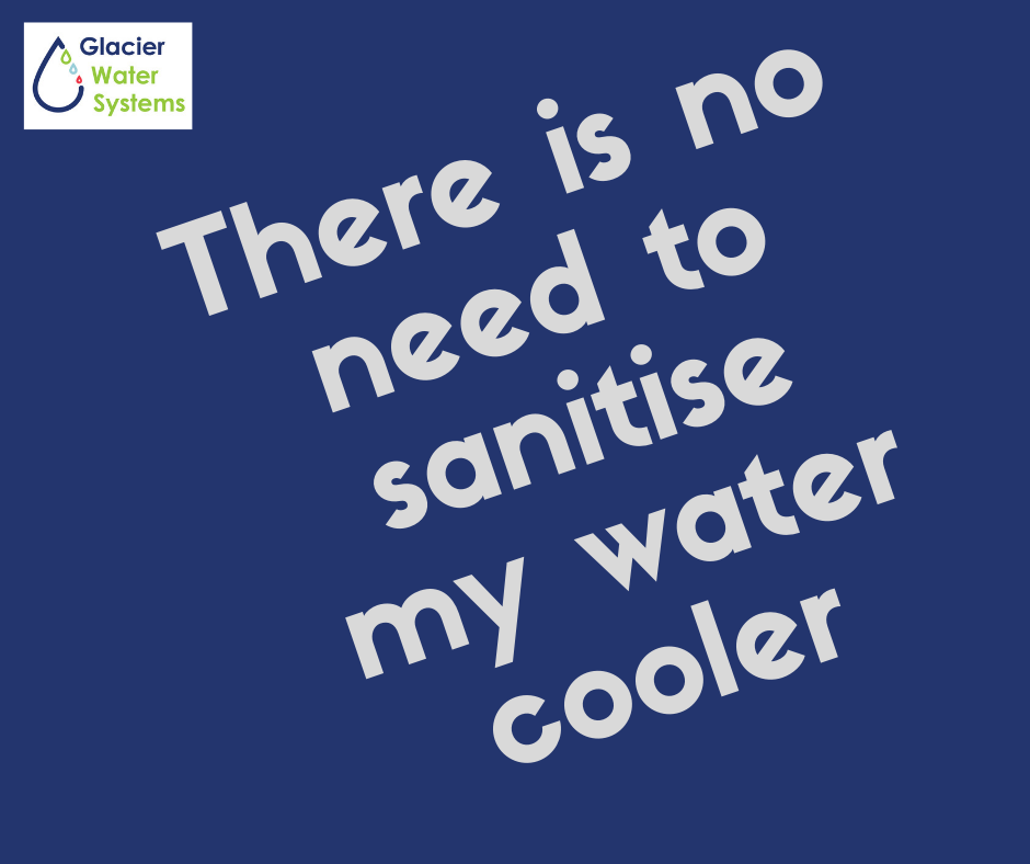 Water cooler sanitising and cleaning