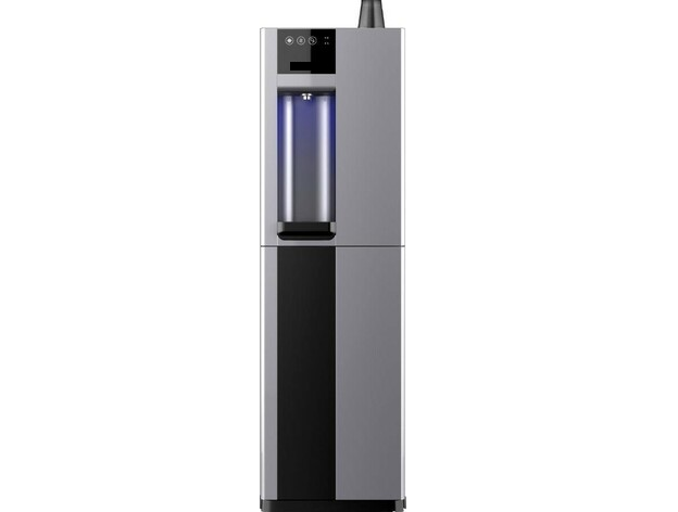 b3 Plumbed In Water Cooler Water Dispenser Floorstanding in Silver from Glacier Water Systems, Northern Ireland.