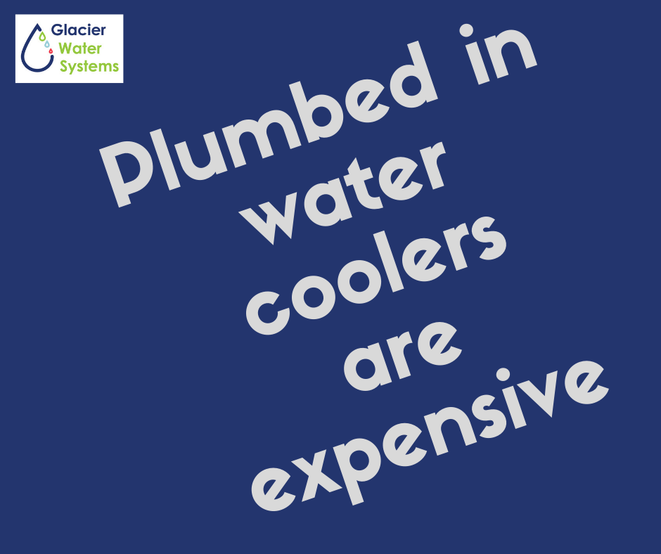 Plumbed in water coolers are cost effective.