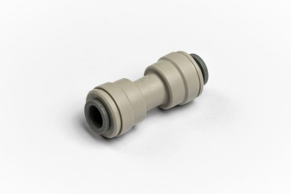 "John Guest Equal Straight Connector 1/4"" for Glacier water filters in Northern Ireland"
