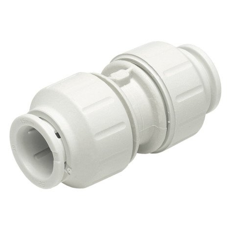 John Guest Equal Straight Connector 15mm & 22mm for Glacier water filters in Northern Ireland.