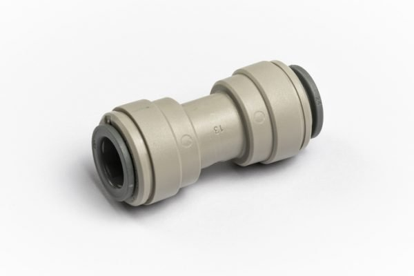 "John Guest Equal Straight Connector 3/8"" for Glacier water filters in Northern Ireland"