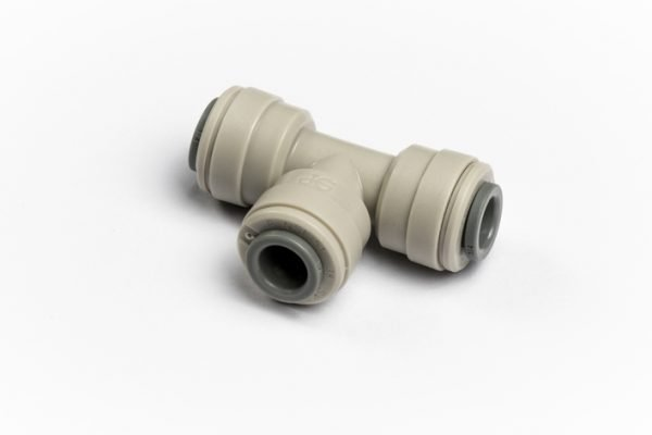 "John Guest Equal Tee 1/4"" for Glacier water filters in Northern Ireland."