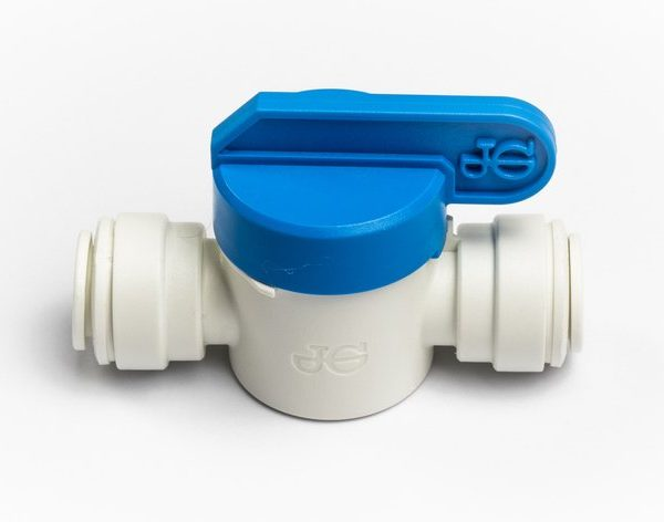 """John Guest Shut off Valve 3/8"""" for Glacier water filters in Northern Ireland."""