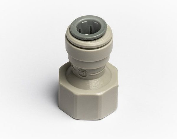 """John Guest Tap Adaptor 3/8"""" x 1/2"""" BSP for Glacier Water Systems Products"""