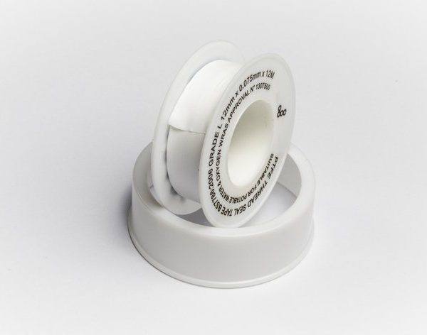PTFE Thread Tape for sealing John Guest fittings from Glacier Water Systems, Belfast