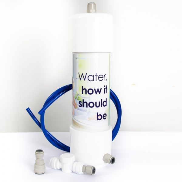 Glacier Compact Undersink Water Filter for business with Cold Water Install Kit. Install this unit straight through a cold water tap in a kitchen, canteen or water area.