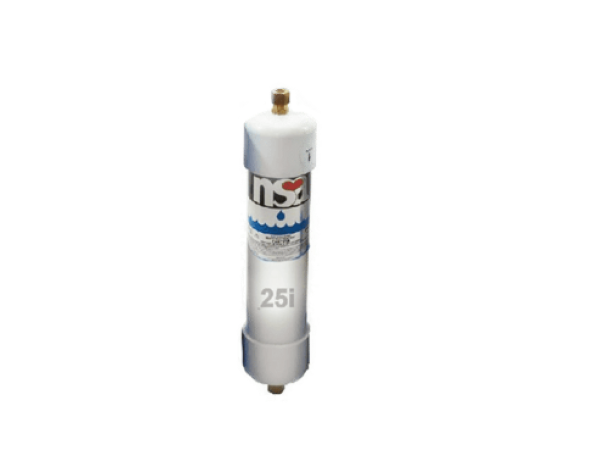 Glacier GW3 inline water filter for NSA 25 and NSA 25i water filter.