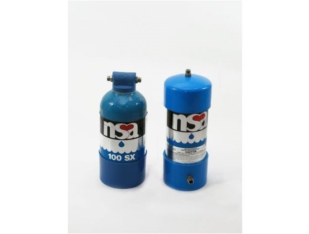 NSA 100s and NSA 100sx direct water filter replacement with Glacier Water Systems GW1 undersink water filter.