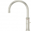 Quooker Classic Boiling Water Tap Fusion Round in Nickel with Glacier Water Systems.