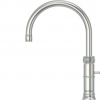 Quooker Classic Boiling Water Tap Fusion Round in Stainless Steel with Glacier Water Systems.