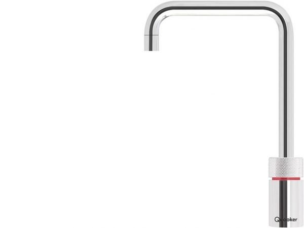 Quooker Nordic Square Single Boiling Water Tap in Polished Chrome from Glacier Water Systems, Northern Ireland