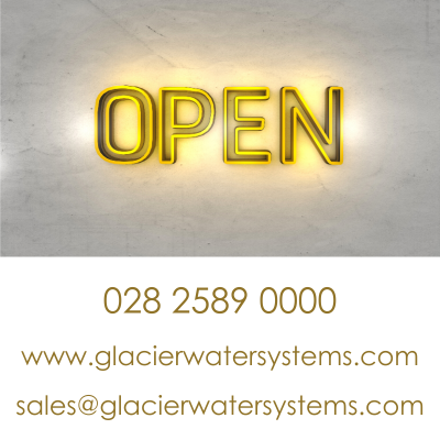 Glacier GW1 inline water filter with Quooker boiling water tap.