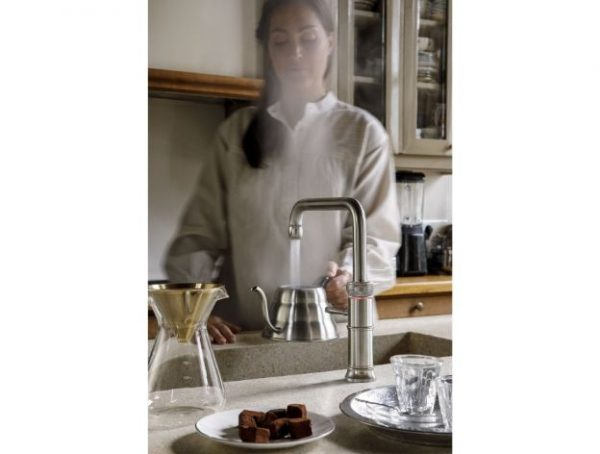 Quooker Classic Fusion Square 3 in 1 Boiling Water Tap for kitchen