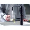Quooker Square Fusion Boiling Water Tap in Black