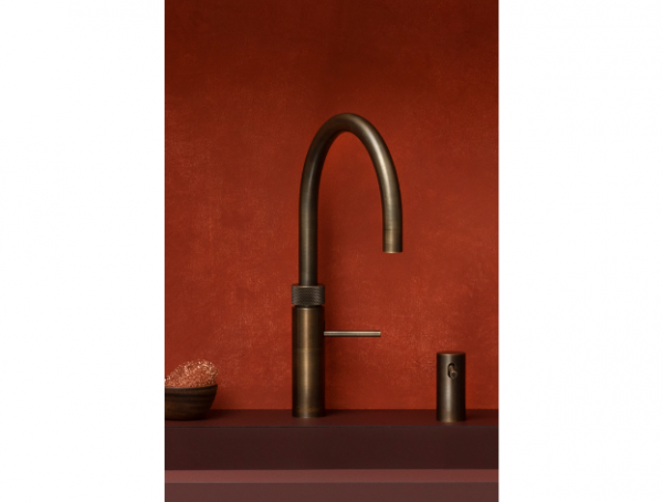 Quooker Hot, Cold, and Boiling Water Fusion Tap