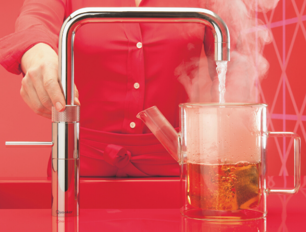 Quooker Square Fusion 3in1 Boiling Water Tap