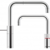 Quooker Square Polished Chrome Nordic Twintaps.